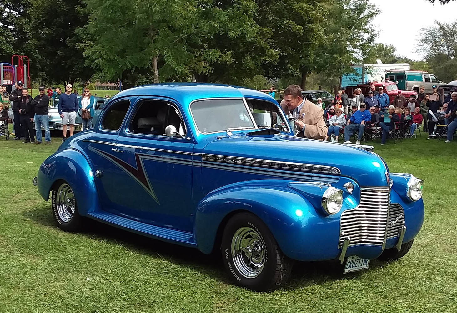 Specialty- 1940 Chevy Coupe, Nick & Janet Polasek 1