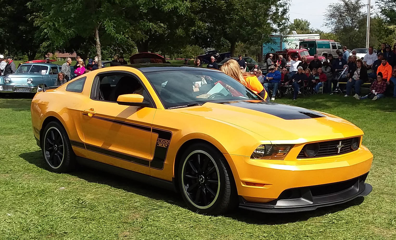 Super Sunday- 2012 Ford Mustang Boss 302, Brandon Moore 1