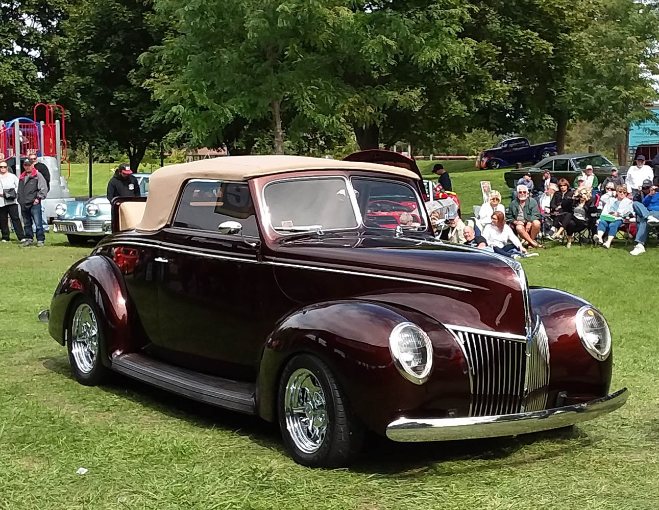 Top 25- 1939 Ford Convertible, Gary Marsh 1
