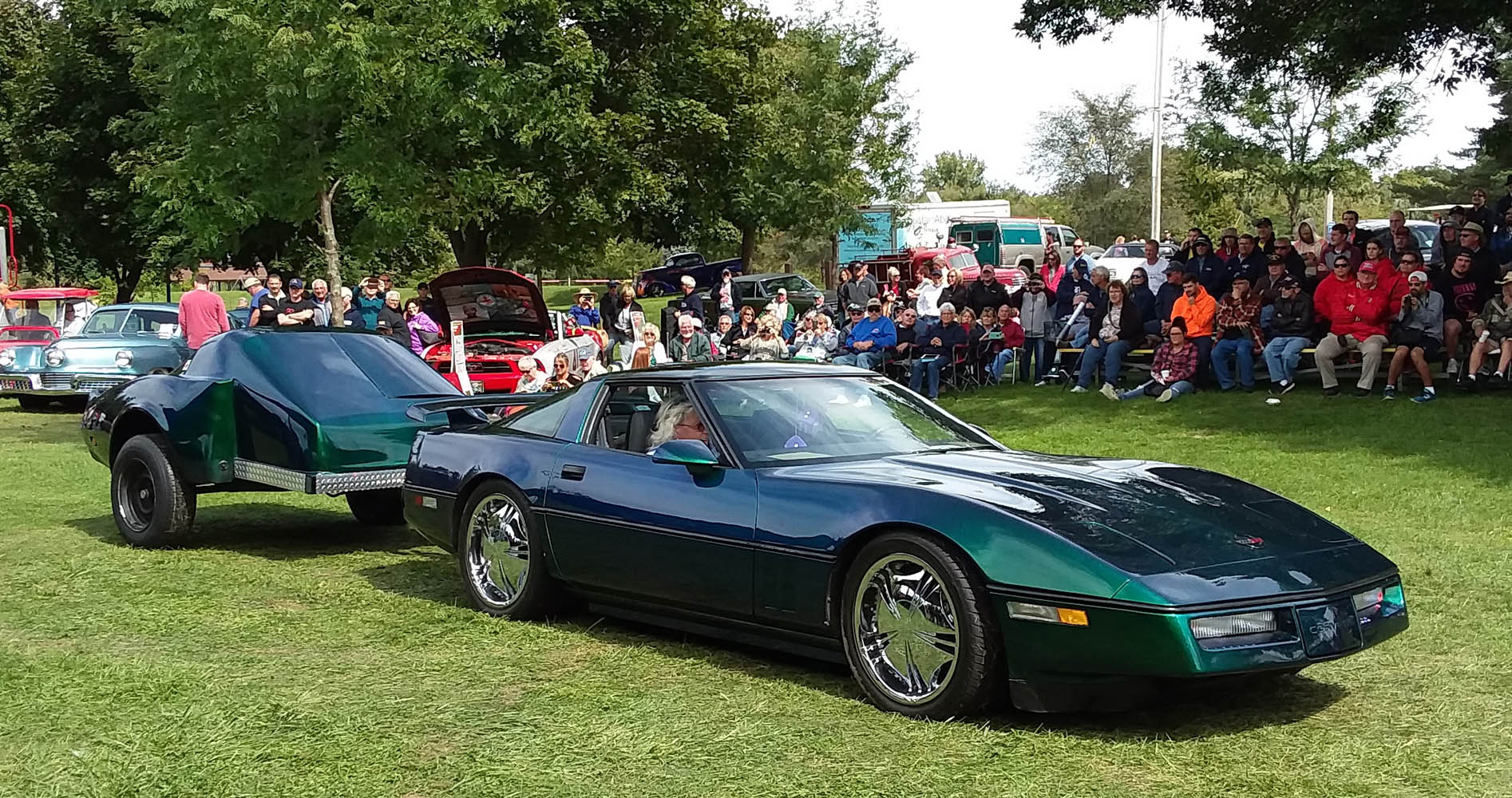 Top 25- 1986 Corvette & Trailer, Hugh White 1