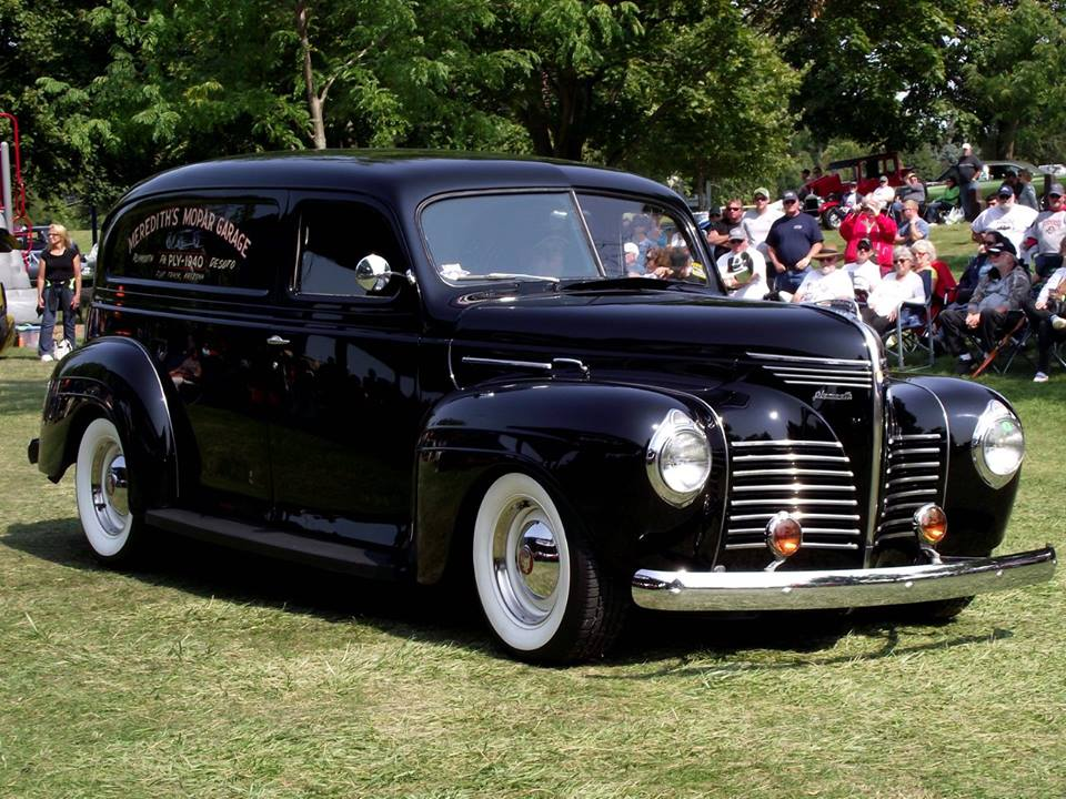 Specialty 1940 Plymouth Sedan Delivery- Tom Meridith 6