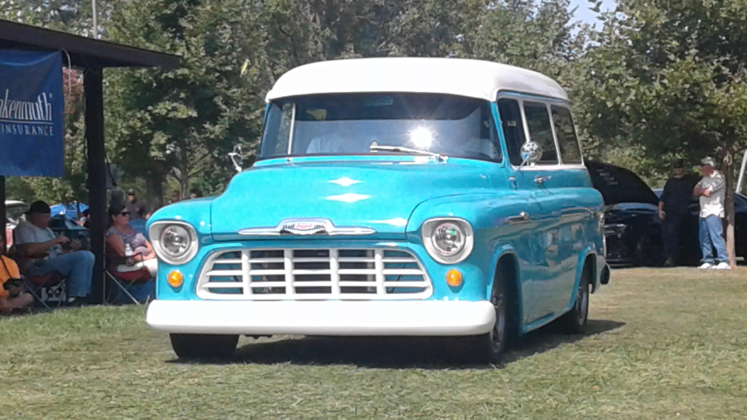 Specialty 1956 Chevy Suburban- Al Goodman 2