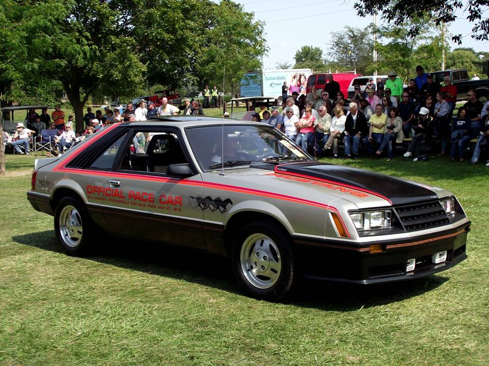 Super Sunday 1979 Ford Mustang Pace Car- Richard Gies 3