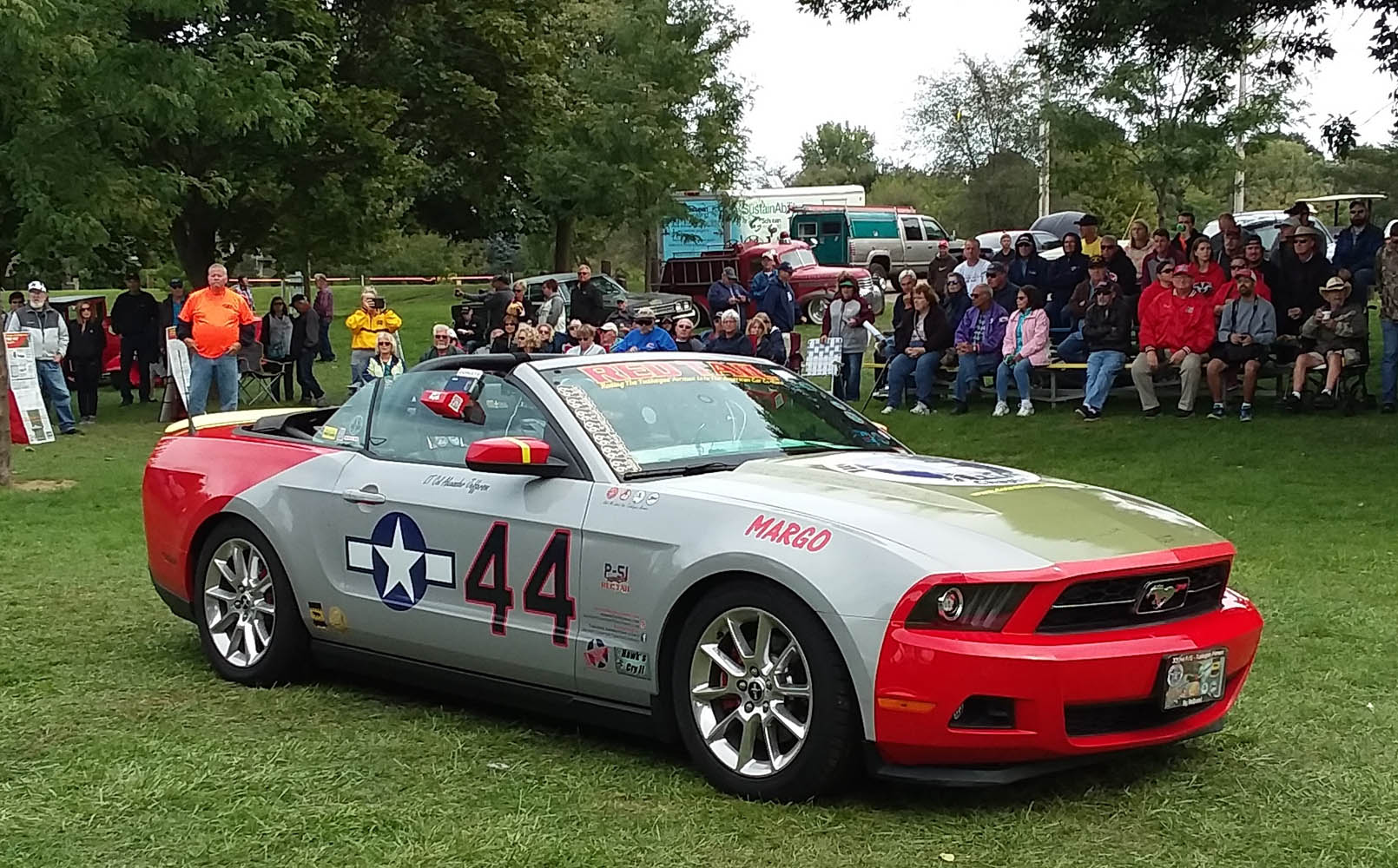 Super Sunday- 2011 Ford Mustang, Eric Palmer 1