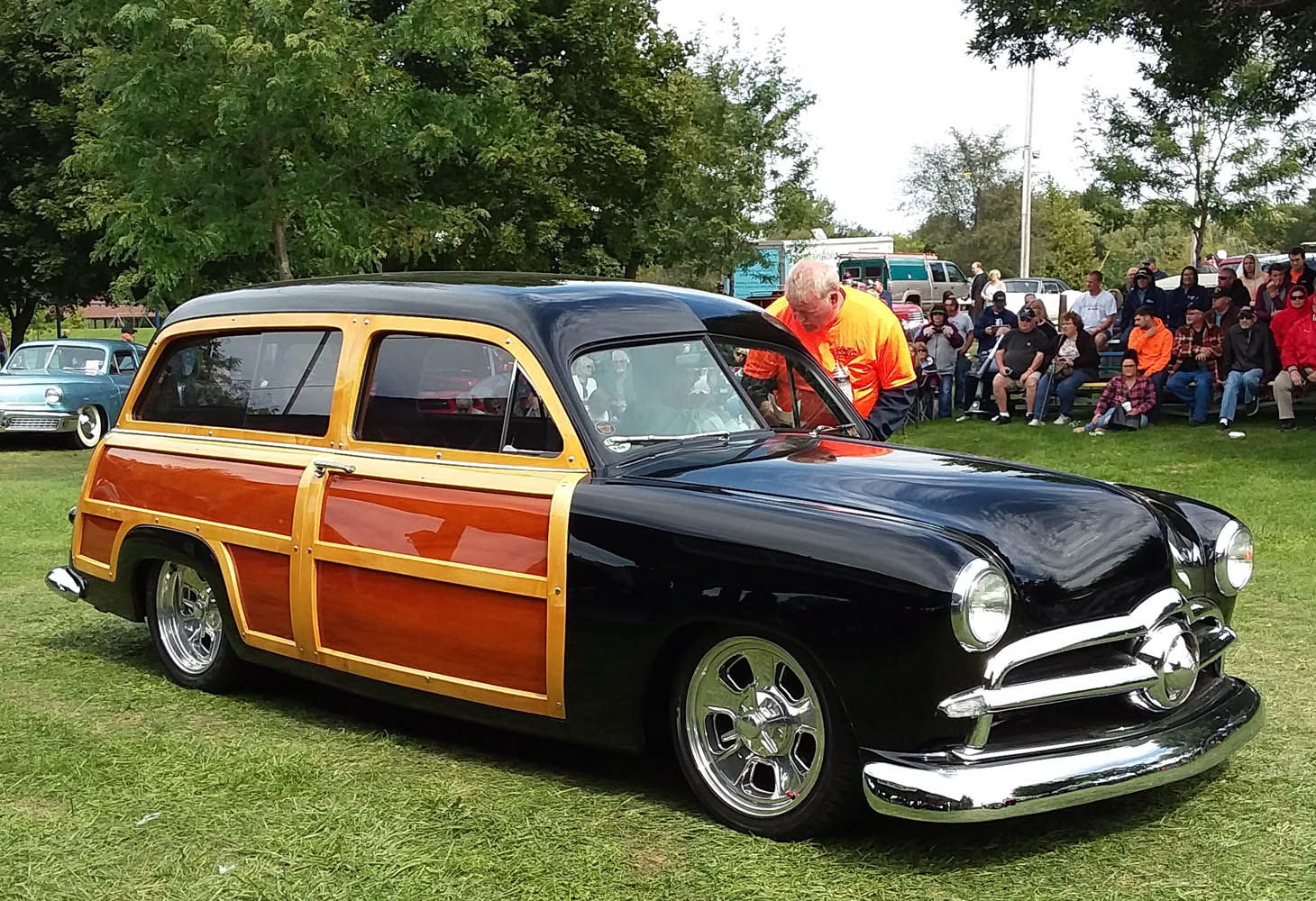 Top 25- 1950 Woodie Wagon, Don House