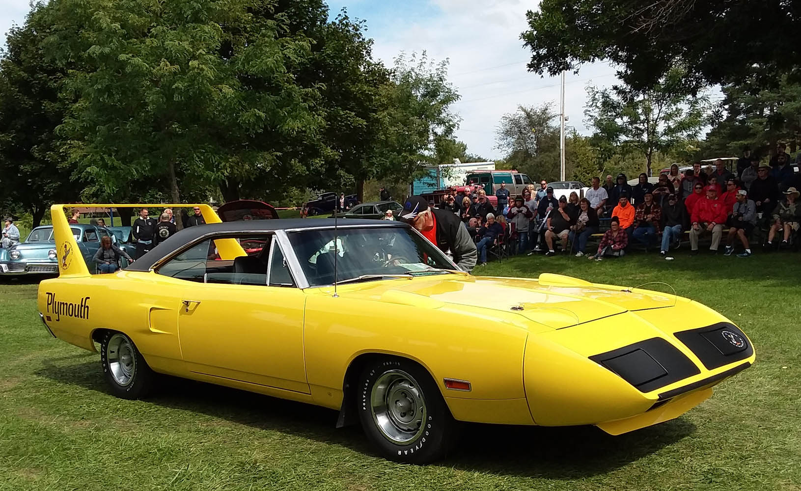 Top 25- 1970 Plymouth Super Bird, Bob Glaspie 1