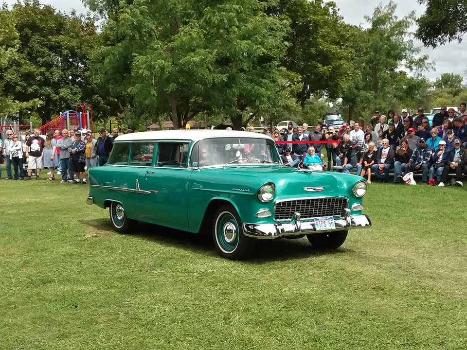 Specialty- 1955 Chevrolet 210 Station Wagon, Tom Stevens