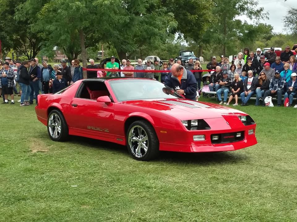 Specialty- 1986 Camaro Iroc Red, Brent Mattice